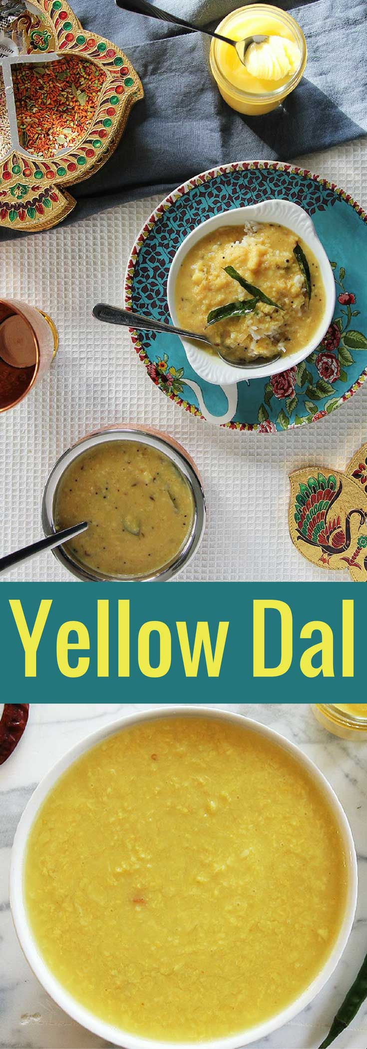 Comforting Yellow Lentils (Dal Tadka)