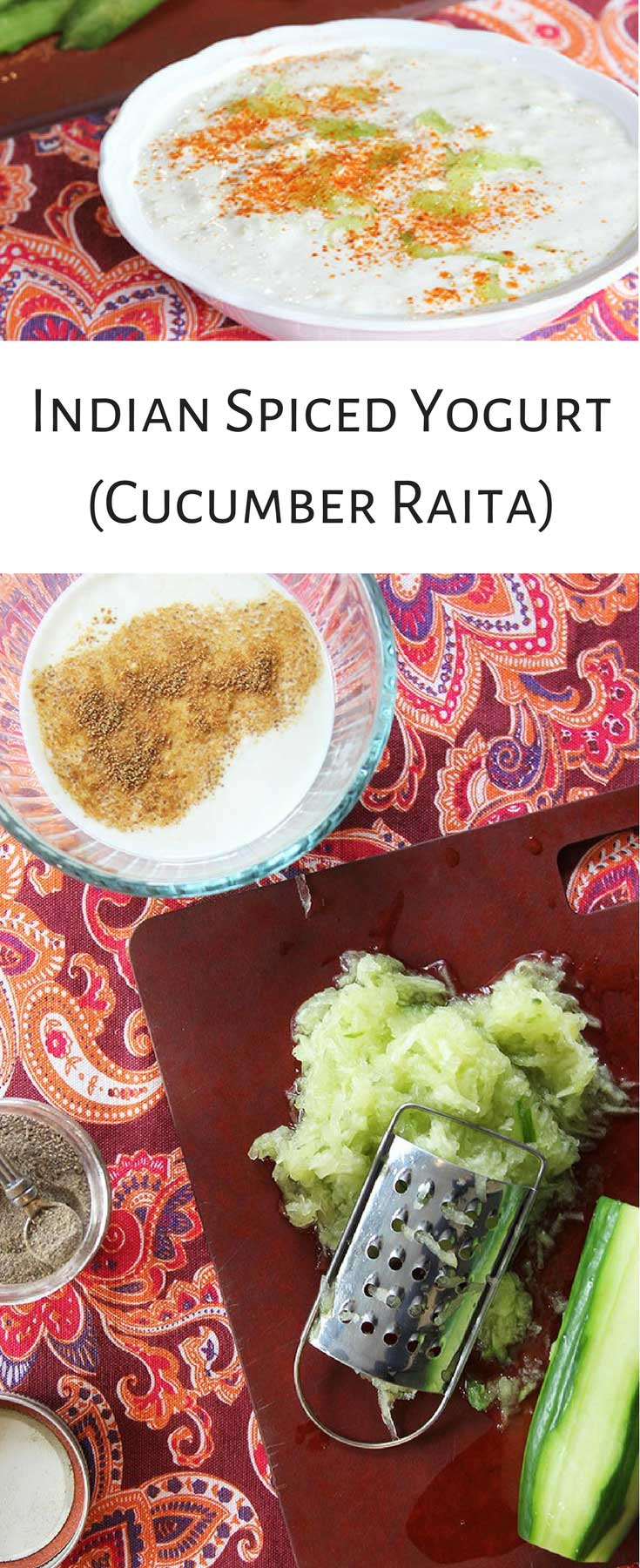 Savory Yogurt For Dinner? Try Cucumber Raita