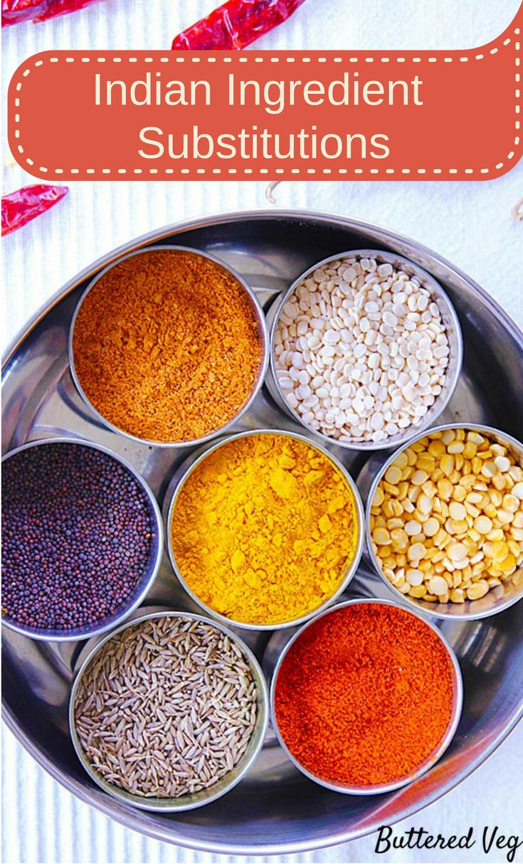 Don\'t have an ingredient to make an Indian recipe? No problem! Use common pantry ingredients.
