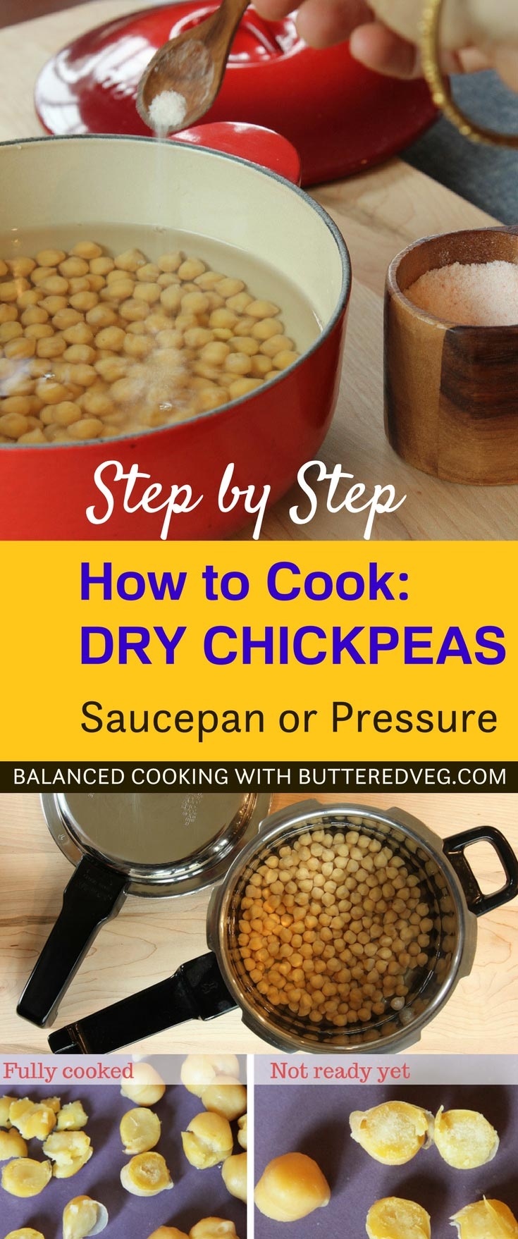 How To Cook Dry Chickpeas From Scratch