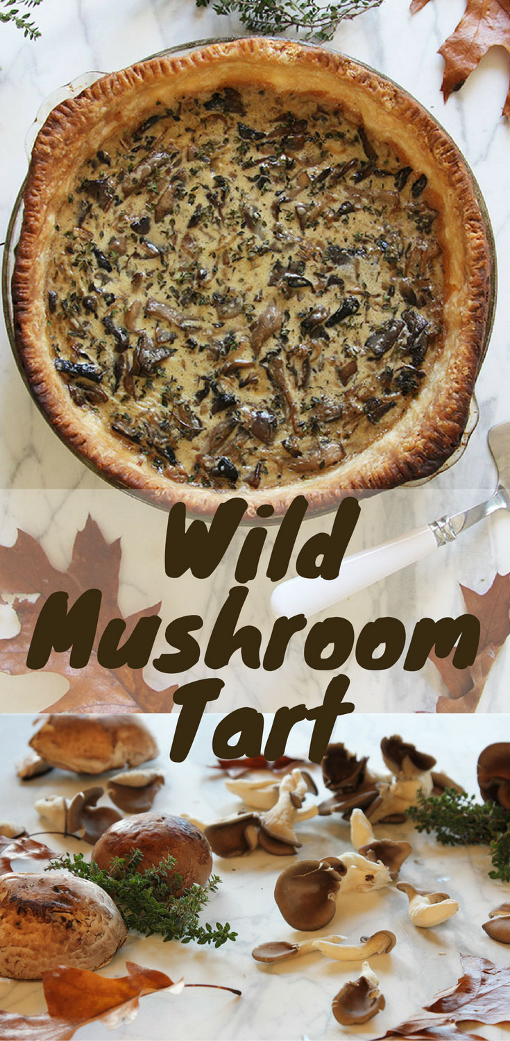 Wild Mushroom Tart is an incredibly enjoyable pastry when you get the seasoning just right. It\'s made with butter, shallots, lemons, thyme, nutmeg & heavy cream.