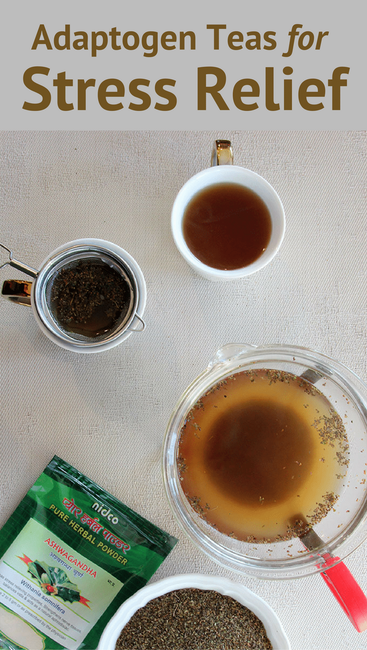 Adaptogen Teas For Stress Relief And Balance