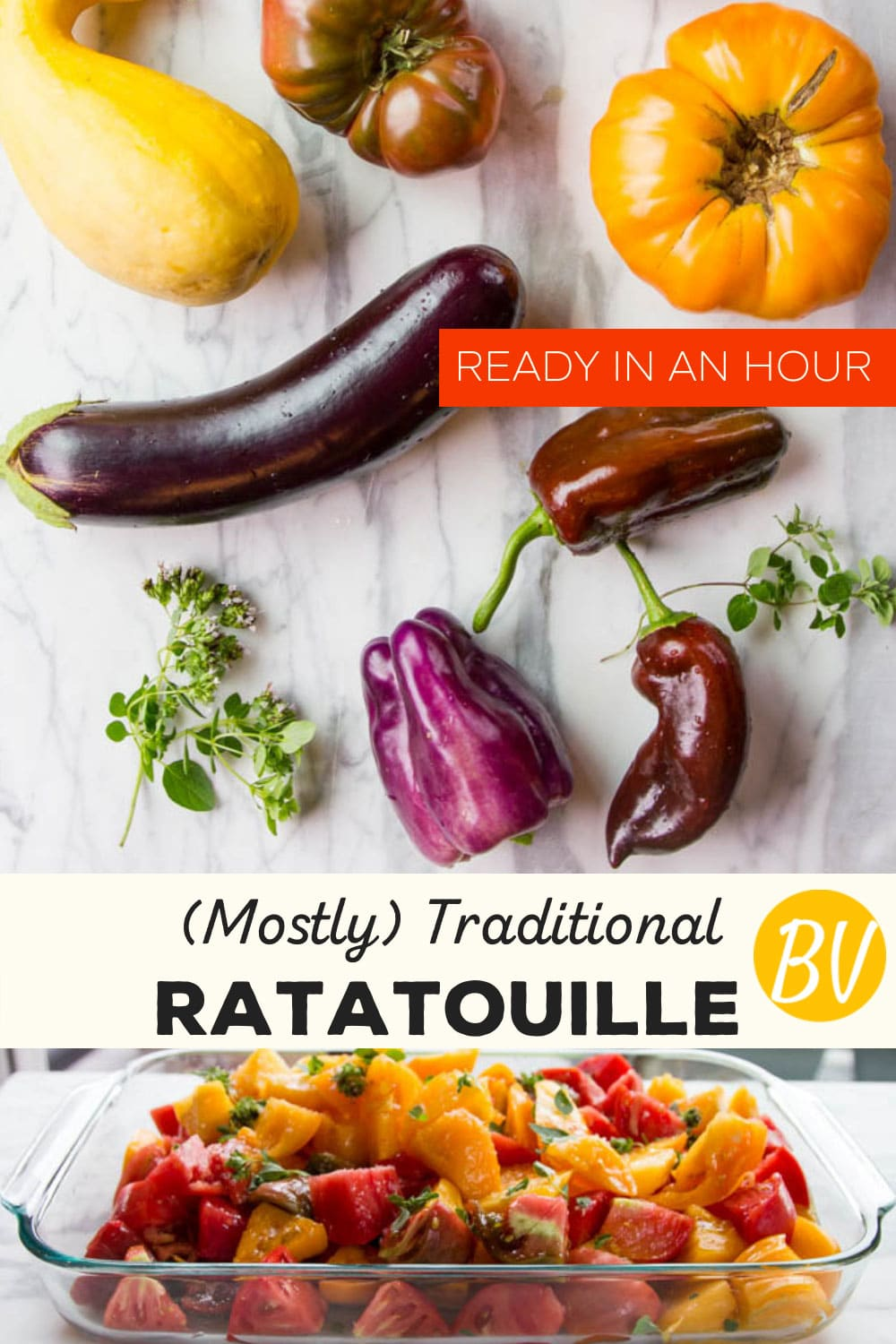 Mostly Traditional Ratatouille, Ready In An Hour