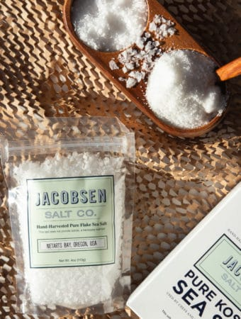 Jacobsen Salt Co. packaged salt