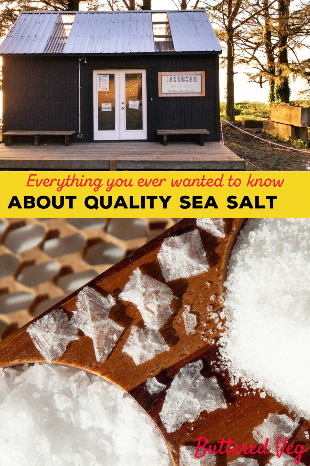 Salt Guide: This Quality Sea Salt Looks Like Shaved Ice, And