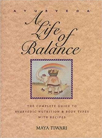 A life of balance cookbook cover