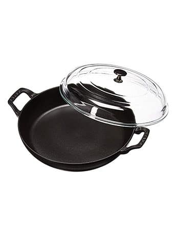 Staub Braiser with Glass Lid - 3.5 Qt