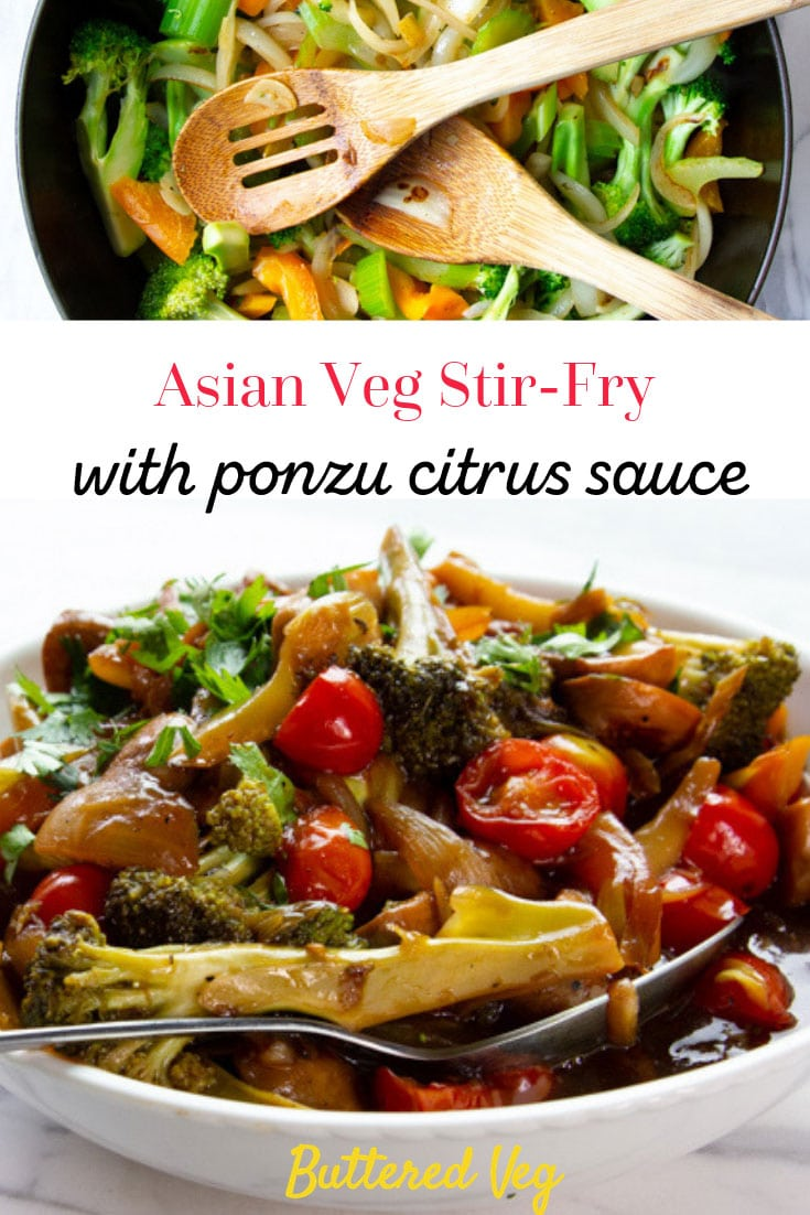 Legit Asian Veg Stir-Fry With Ponzu Citrus Sauce