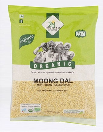Moong dal certified organic