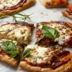 naan pizzas three ways