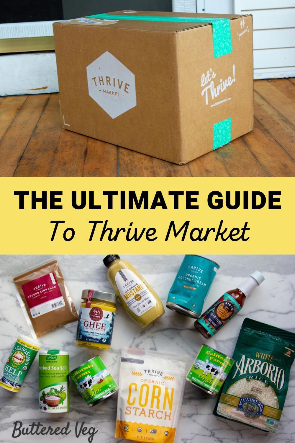 The Ultimate Guide To Shopping At Thrive Market