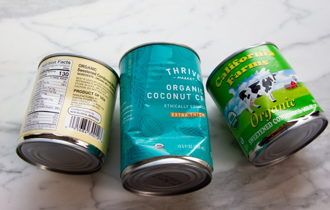 Dented cans from Thrive Market