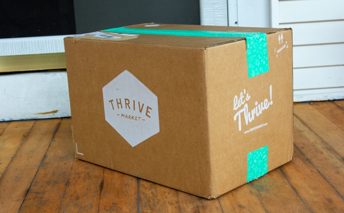 Thrive Market box