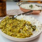mung bean dal with buttermilk