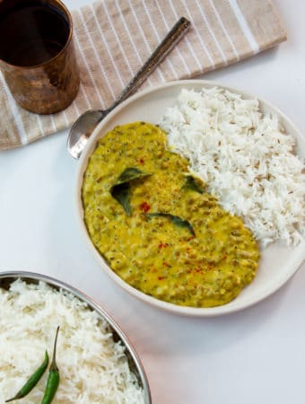 mung bean dal curry
