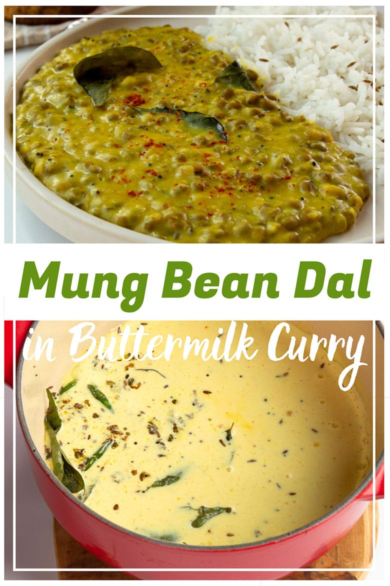 Soothing Mung Bean Dal In Buttermilk Curry