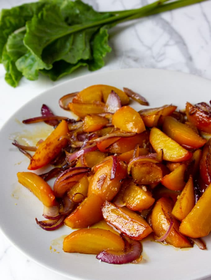roasted beets with maple