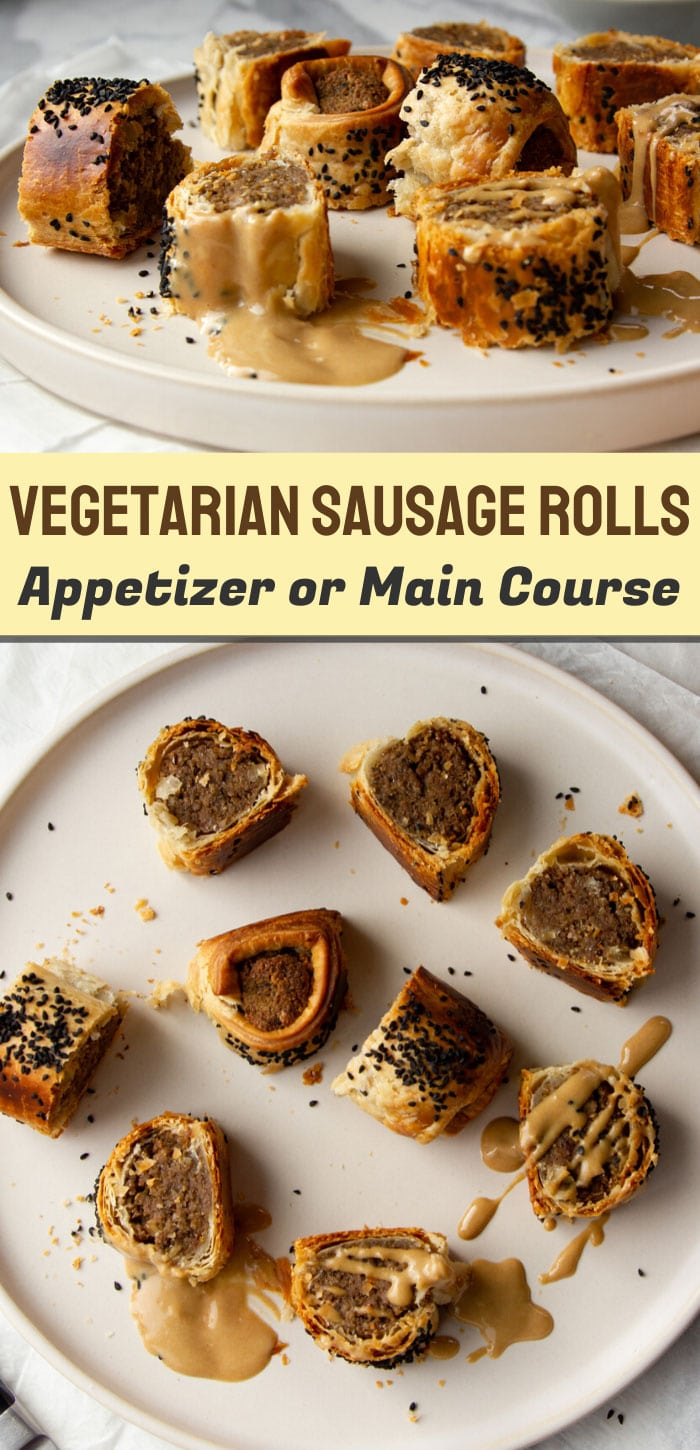 Vegetarian Sausage Rolls Recipe (Nut-Based)