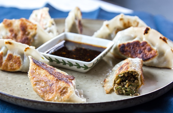 Potstickers that look good enough to eat