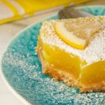Vegan lemon bar